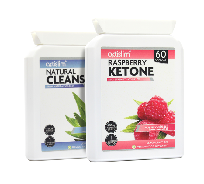 Raspberry Max and Natural Cleanse Combo (Postal)