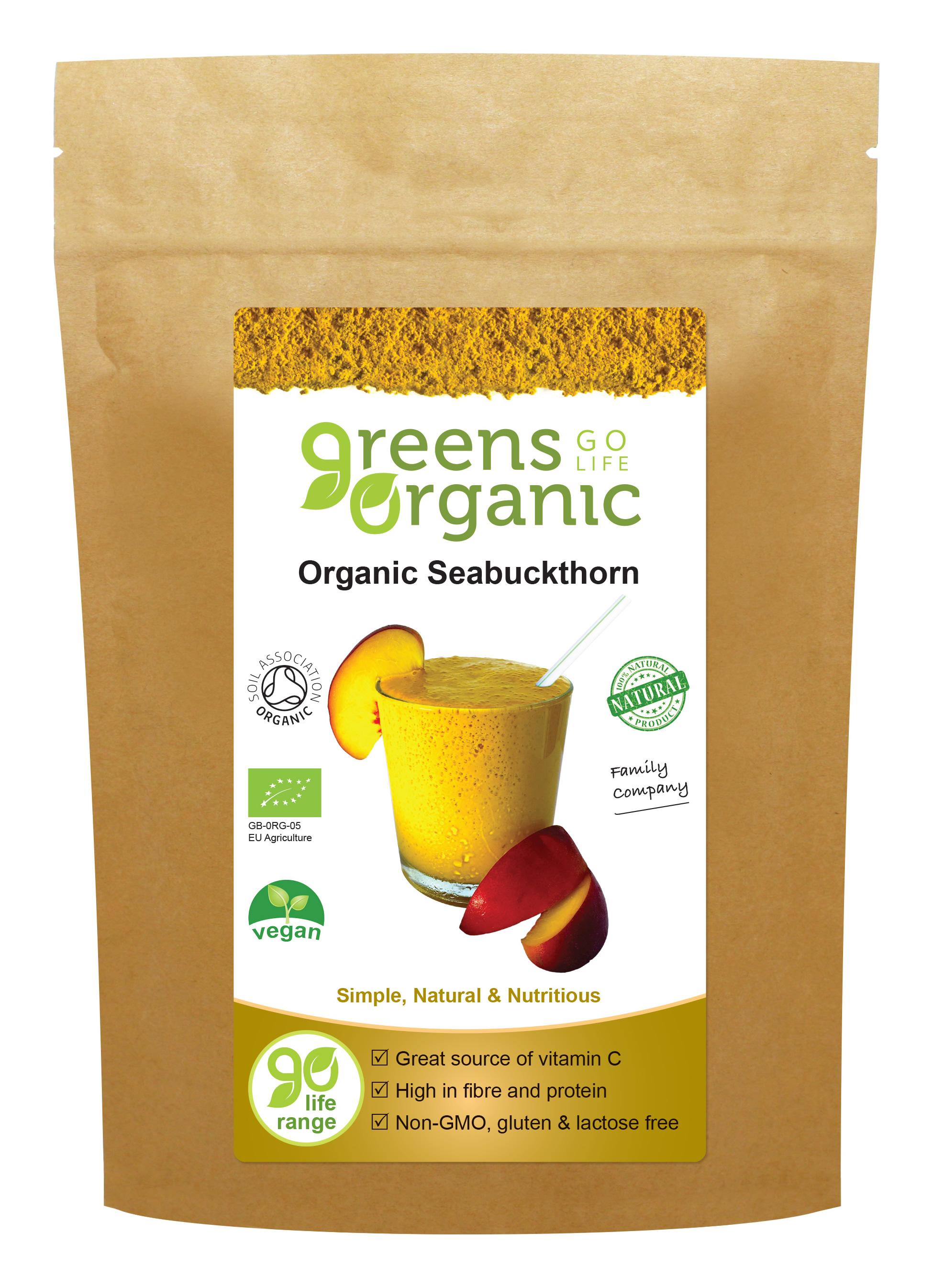 Organic Seabuckthorn Powder