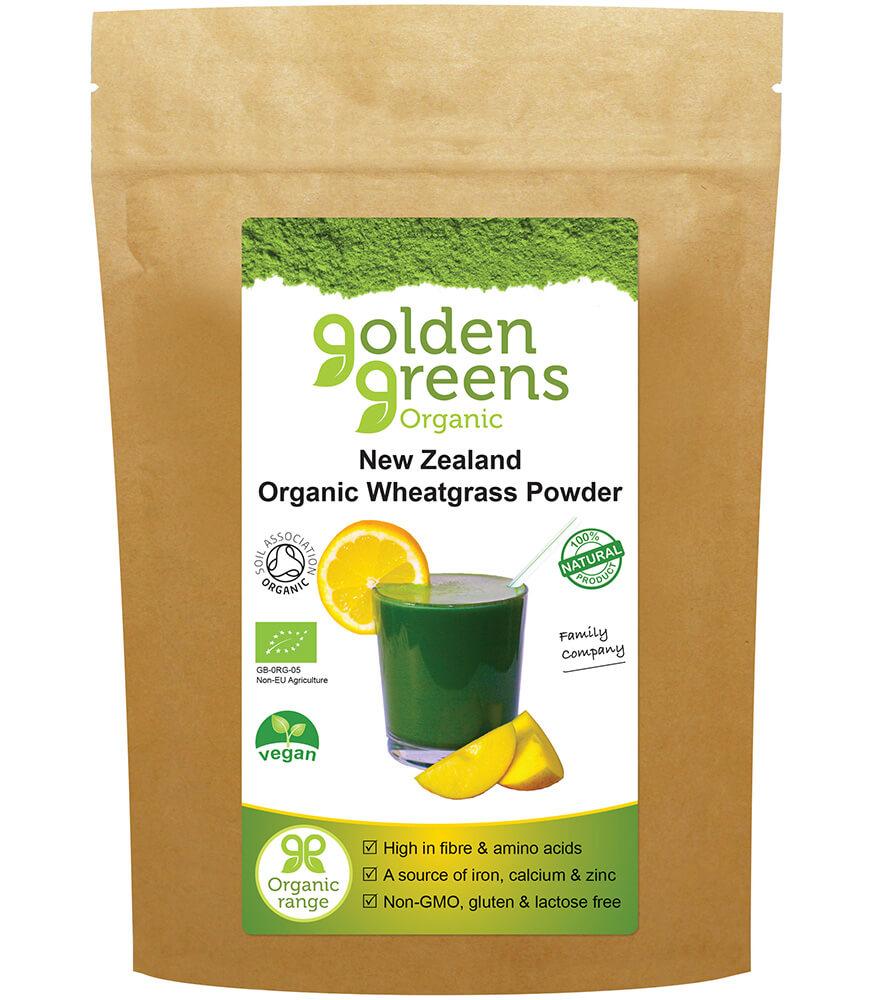 Organic New Zealand Wheatgrass Powder